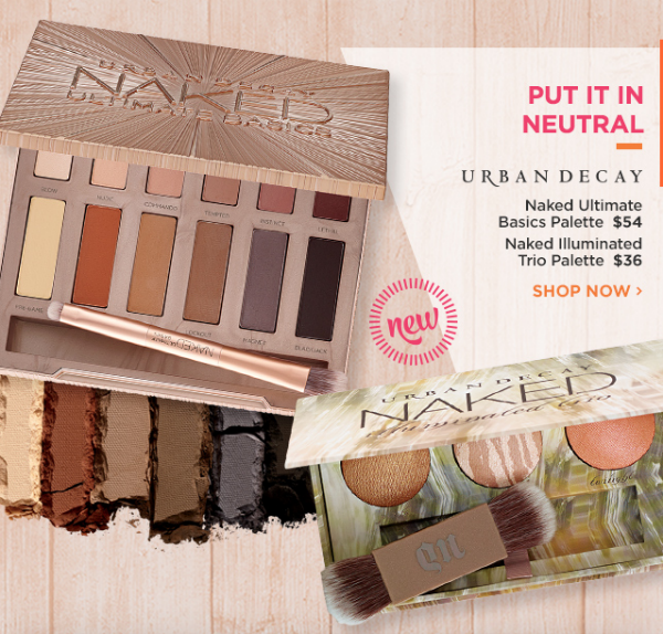 Start Fall with Ulta New Releases: Urban Decay Naked Ultimate Basics Palette and Naked Illuminated Trio || Southeast by Midwest #beauty #bbloggers #ultabeauty #urbandecay