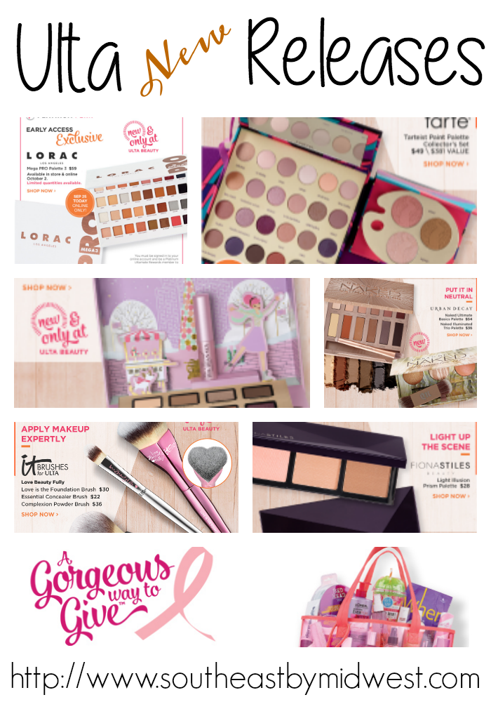 Start Fall with Ulta New Releases || Southeast by Midwest #beauty #bbloggers #ultabeauty