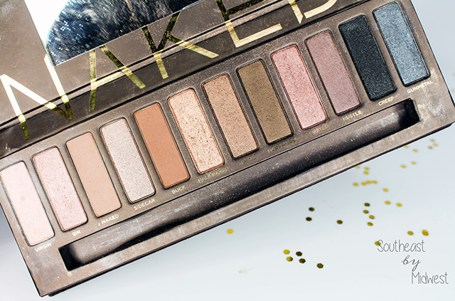 Urban Decay Naked Palettes Naked 1 || Southeast by Midwest #beauty #bbloggers #urbandecay