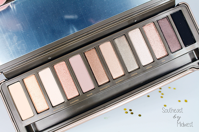 Urban Decay Naked Palettes Naked 2 || Southeast by Midwest #beauty #bbloggers #urbandecay