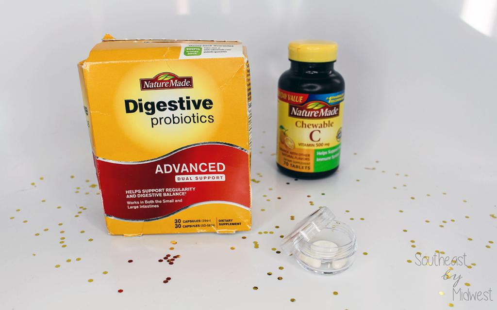 Nature Made Probiotics and Vitamins