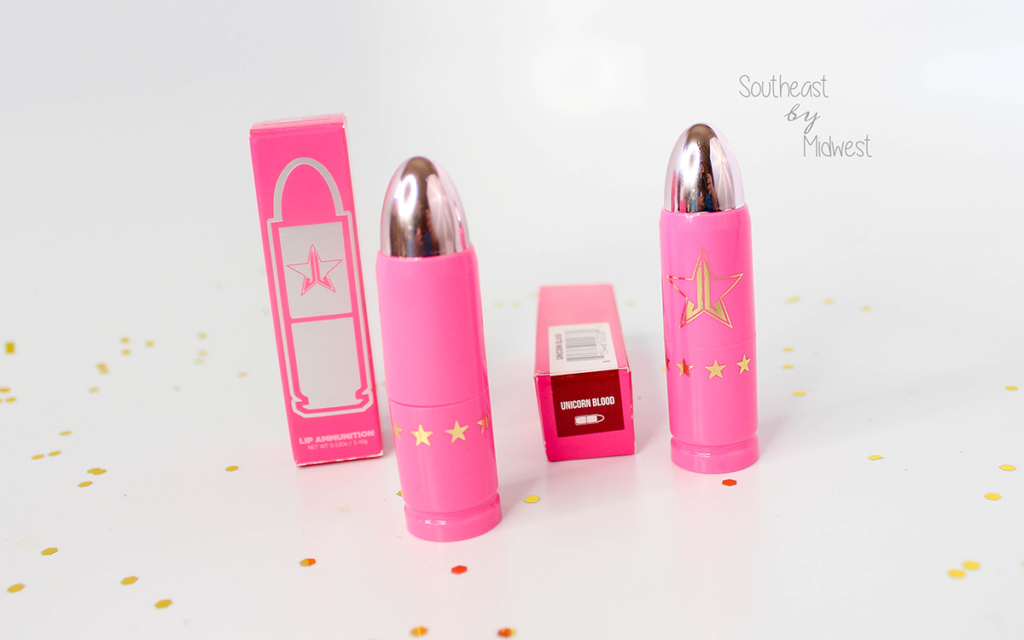 Beauty Review | Jeffree Star Cosmetics Lip Ammunition in Jeffree's Girl & Unicorn Blood