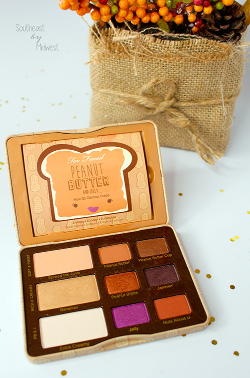Last Minute Thanksgiving Makeup Too Faced Peanut Butter and Jelly Palette || Southeast by Midwest #beauty #bbloggers #thanksgiving #holidaymakeup #toofaced