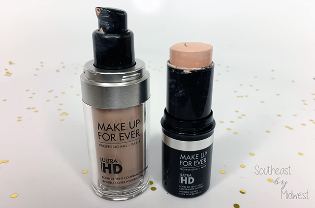 Make Up For Ever Ultra HD Liquid and Stick Foundation || Southeast by Midwest #beauty #bbloggers #mufe #influenster