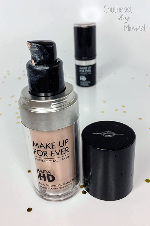 Make Up For Ever Ultra HD Liquid Foundation Packaging || Southeast by Midwest #beauty #bbloggers #mufe #influenster