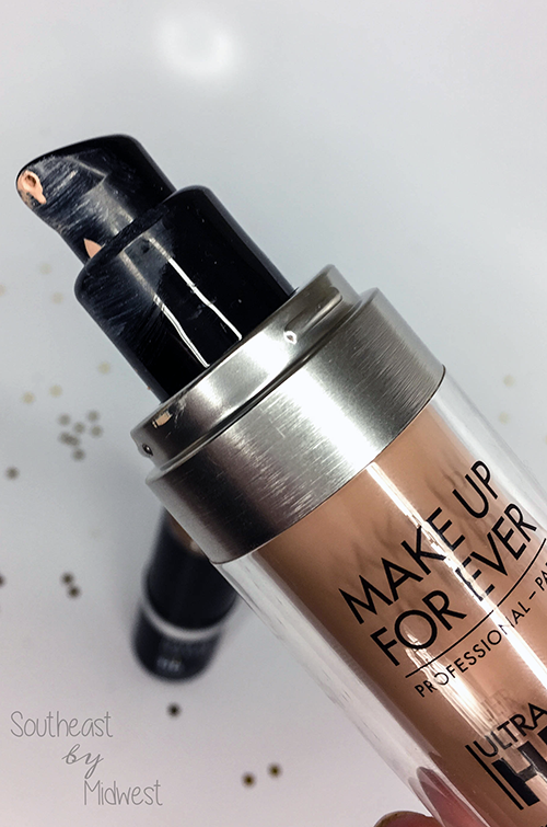 Make Up For Ever Ultra HD Liquid Foundation Up Close || Southeast by Midwest #beauty #bbloggers #mufe #influenster