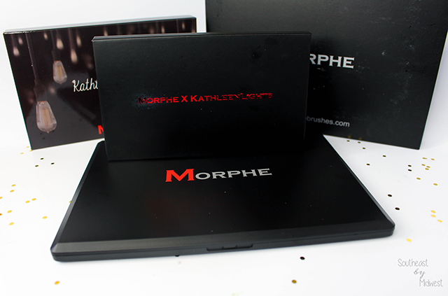 Morphe x Kathleen Lights Palette Review with Swatches Packaging || Southeast by Midwest #beauty #bbloggers #morphexkathleenlights