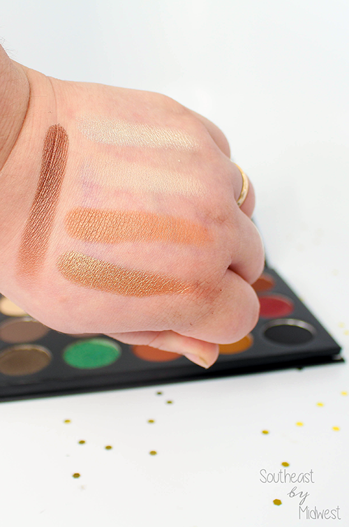 Morphe x Kathleen Lights Palette Review with Swatches Row 1 || Southeast by Midwest #beauty #bbloggers #morphexkathleenlights
