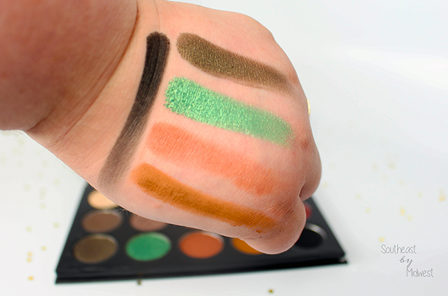 Morphe x Kathleen Lights Palette Review with Swatches Row 3 || Southeast by Midwest #beauty #bbloggers #morphexkathleenlights
