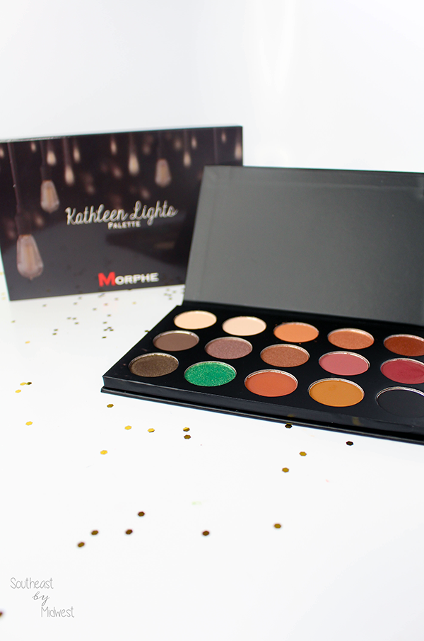Morphe x Kathleen Lights Palette Review with Swatches || Southeast by Midwest #beauty #bbloggers #morphexkathleenlights