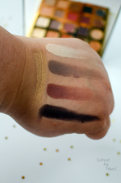 Beauty Review: Tarte Tarteist Pro Palette with Swatches Row 2 || Southeast by Midwest #beauty #bblogger #tarte #tarteistPRO