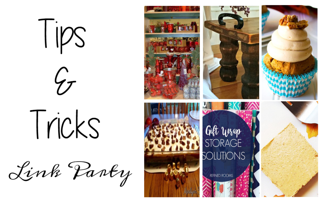 Tips and Tricks Link Party #93