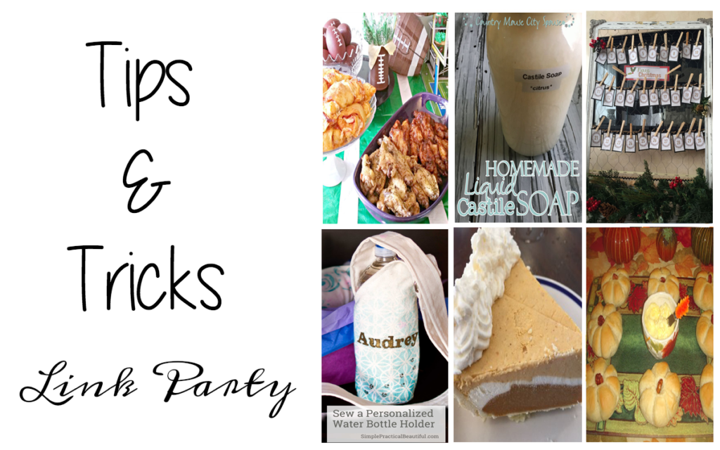 Tips and Tricks Link Party #94