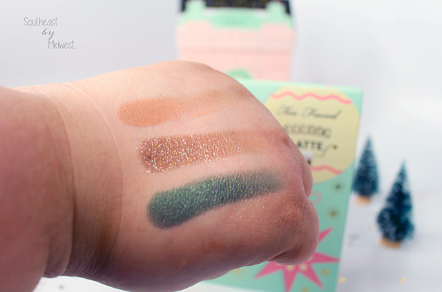 Too Faced Grand Hotel Palette Eggnog Latte Swatches Row 2    Southeast by Midwest #beauty #bbloggers #toofaced #grandhotel