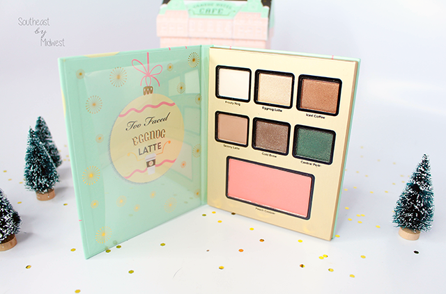 Too Faced Grand Hotel Palette Eggnog Latte    Southeast by Midwest #beauty #bbloggers #toofaced #grandhotel