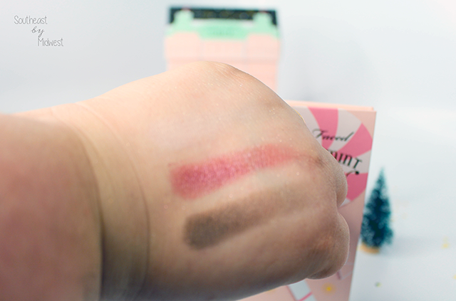 Too Faced Grand Hotel Palette Peppermint Mocha Swatches Row 2    Southeast by Midwest #beauty #bbloggers #toofaced #grandhotel