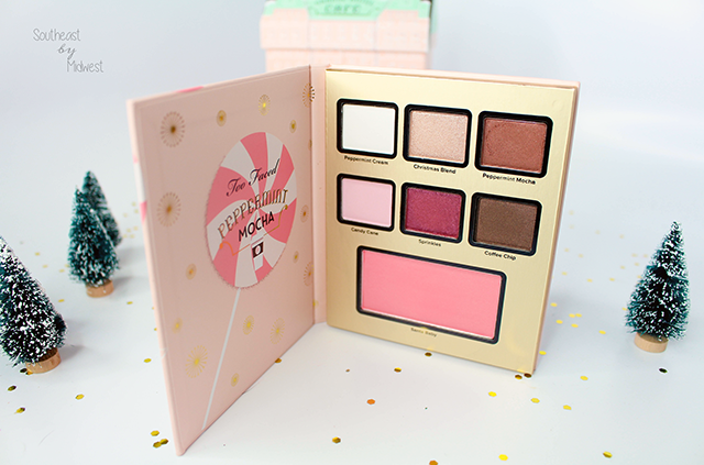 Too Faced Grand Hotel Palette Peppermint Mocha || Southeast by Midwest #beauty #bbloggers #toofaced #grandhotel