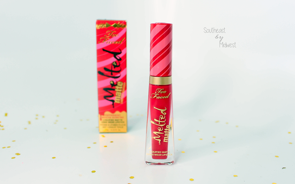 Beauty Review | Too Faced Melted Matte Lipstick in Candy Cane