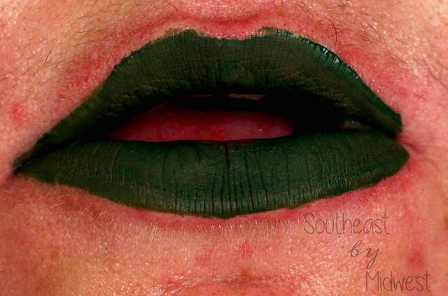 Jeffree Star Holiday Lip Bundle Crocodile Tears Lip Swatch    Southeast by Midwest #beauty #bbloggers #jeffreestar