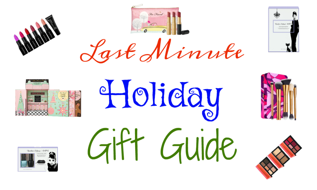 Collaboration | Last Minute Holiday Gift Guide