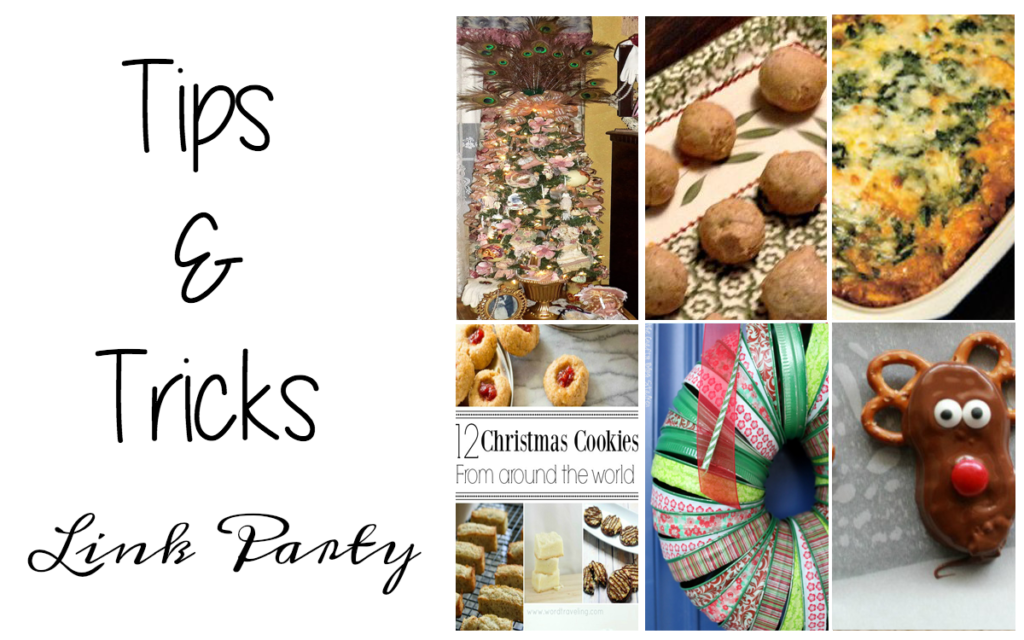Tips and Tricks Link Party #96