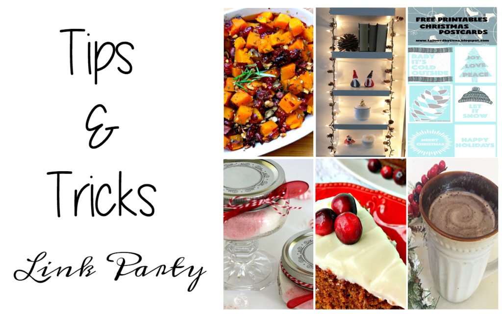 Tips and Tricks Link Party #97