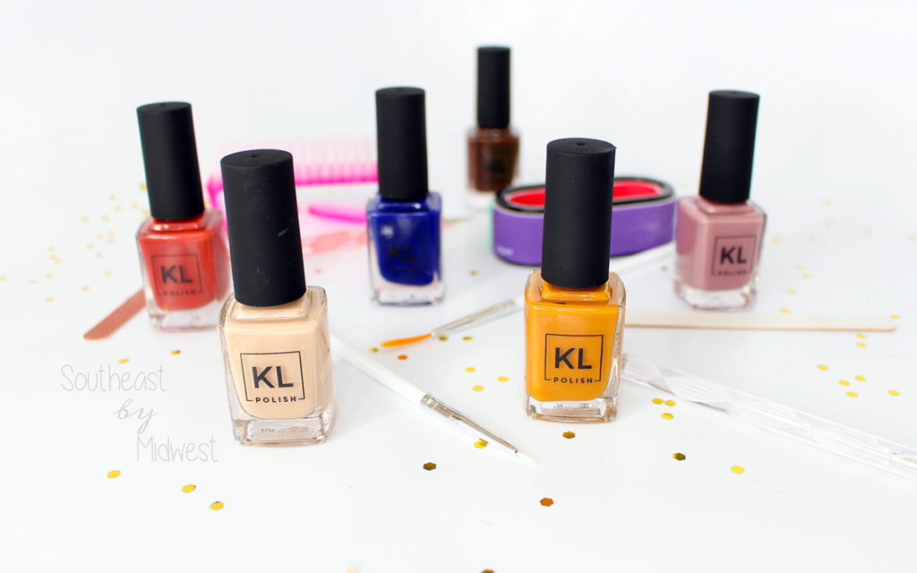 KL Polish Review + Swatches Featured Image || Southeast by Midwest #beauty #bbloggers #klpolished #nails