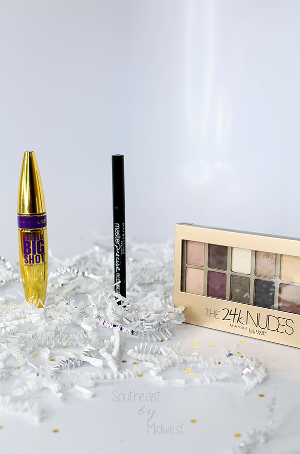 Maybelline New Year Releases || Southeast by Midwest #beauty #bbloggers #sponsored #mnyitlook #bigshotmascara #24knudes #mnyliner