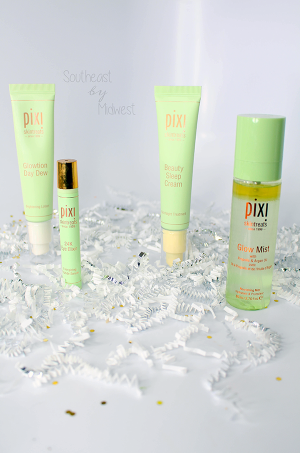 Pixi by Petra SkinTreats || Southeast by Midwest #beauty #bbloggers #PixiGlow #PixiBeauty