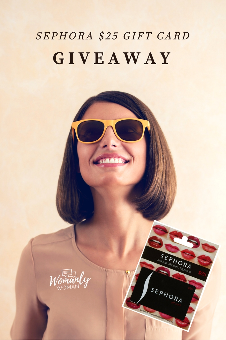$25 Sephora Gift Card Giveaway || Southeast by Midwest #beauty #bbloggers #sephora #giveaway
