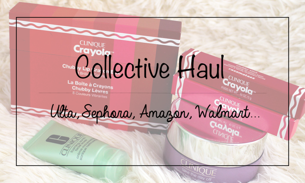 Collective Haul feat. Ulta, Sephora, GlamGlow, Walmart, Target, and more!