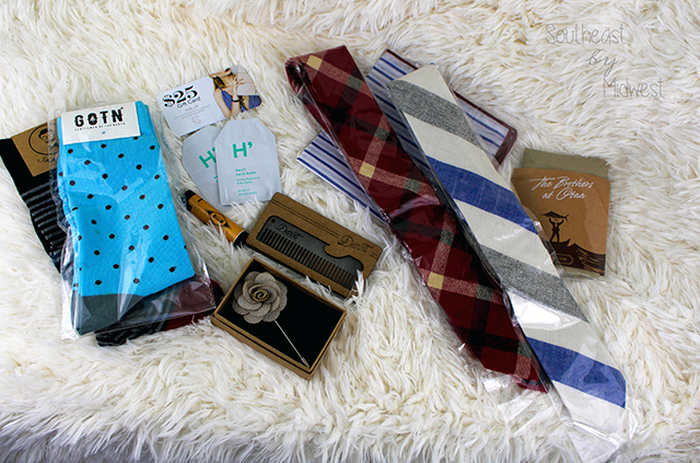 Gentleman's Box: Overview All Products    Southeast by Midwest #subscriptionbox #gentlemansbox