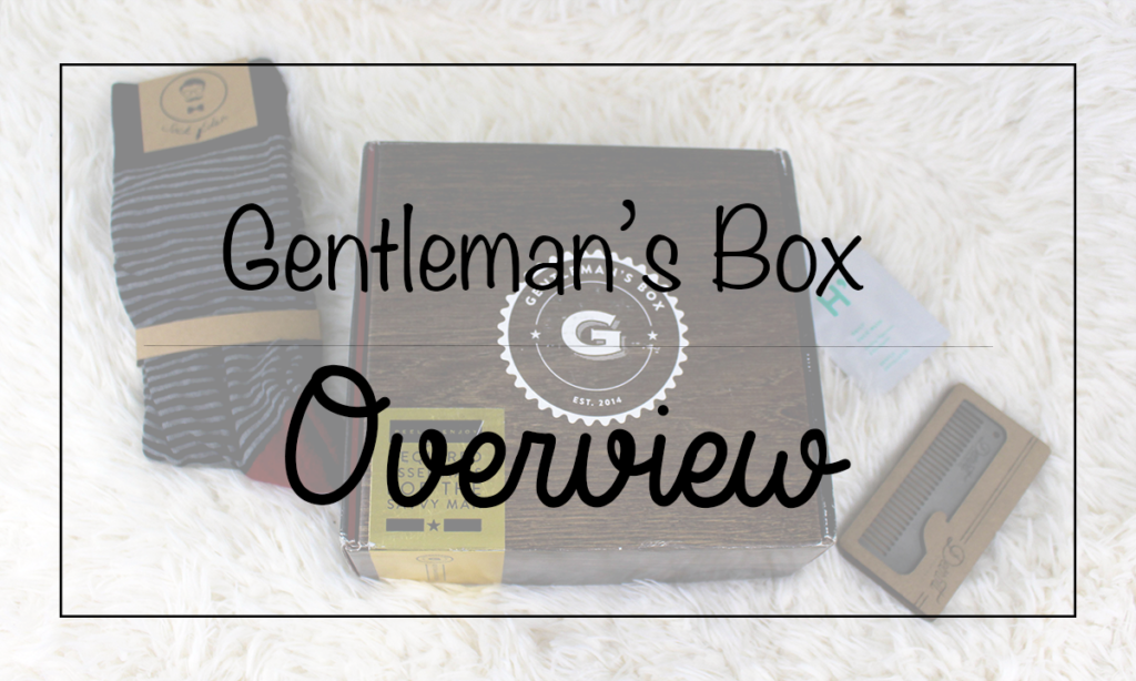Gentleman's Box: Overview Featured Image || Southeast by Midwest #subscriptionbox #gentlemansbox