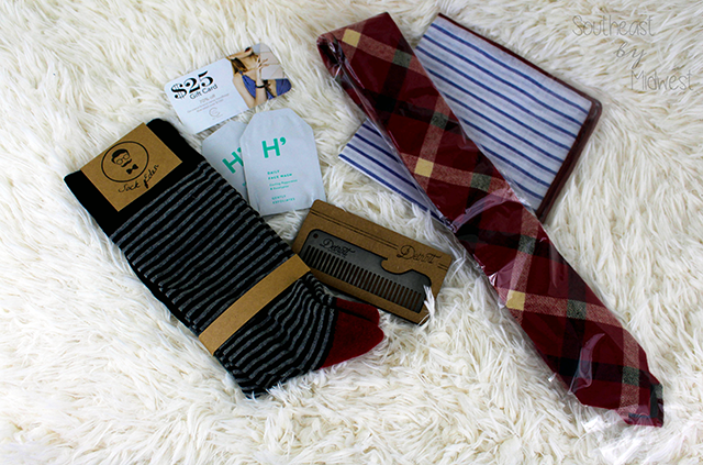 Gentleman's Box: Overview February's Box    Southeast by Midwest #subscriptionbox #gentlemansbox