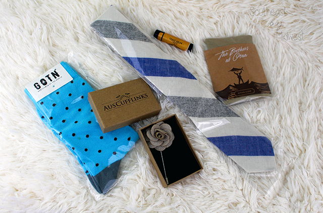 Gentleman's Box: Overview January's Box || Southeast by Midwest #subscriptionbox #gentlemansbox