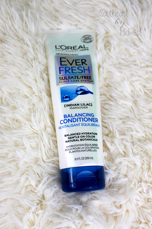 L'Oréal EverFresh Hair Care First Impressions Conditioner || Southeast by Midwest #beauty #bbloggers #loreal #everfresh #haircare