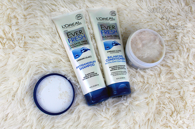L'Oréal EverFresh Hair Care First Impressions Laid Out || Southeast by Midwest #beauty #bbloggers #loreal #everfresh #haircare