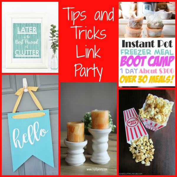 Tips and Tricks Link Party #105 || Southeast by Midwest #tipsandtricks #linkparty