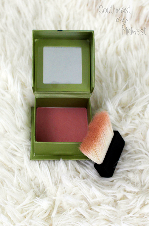 Benefit Cosmetics Dandelion Line Review Blush Opened || Southeast by Midwest #beauty #benefit