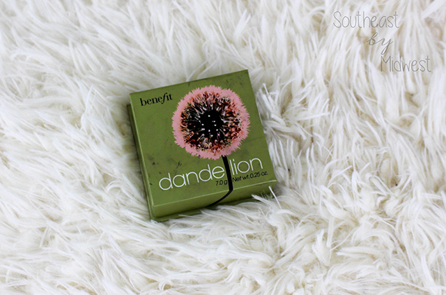 Benefit Cosmetics Dandelion Line Review Blush || Southeast by Midwest #beauty #benefit