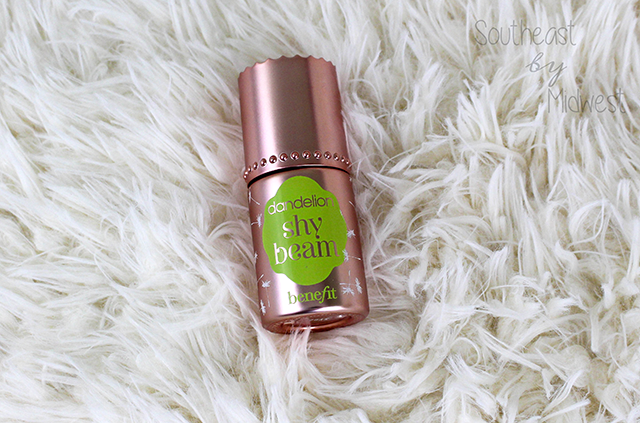 Benefit Cosmetics Dandelion Line Review Shy Beam || Southeast by Midwest #beauty #benefit