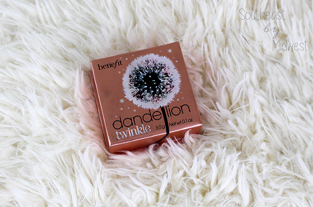 Benefit Cosmetics Dandelion Line Review Twinkle || Southeast by Midwest #beauty #benefit