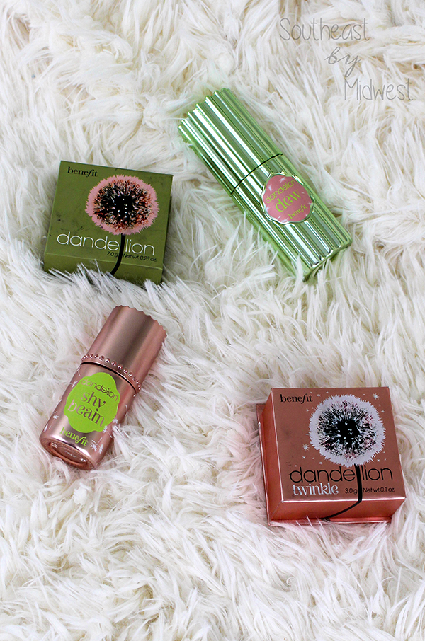 Benefit Cosmetics Dandelion Line Review || Southeast by Midwest #beauty #benefit
