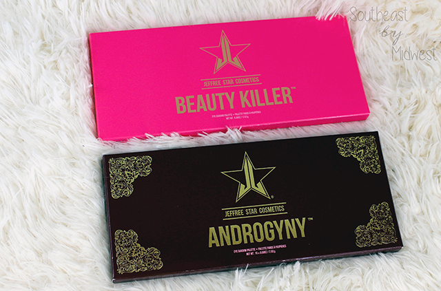 Jeffree Star Eye Shadow Palettes Review Unit Carton || Southeast by Midwest #beauty #bbloggers #jeffreestar