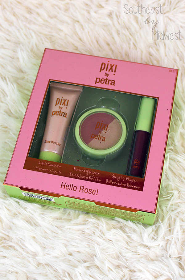 Pixi Beauty Hello Rose Set || Southeast by Midwest #beauty #bbloggers #pixibeauty