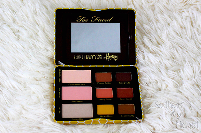 Too Faced Peanut Butter & Honey Palette Review Mirror || Southeast by Midwest #beauty #toofaced