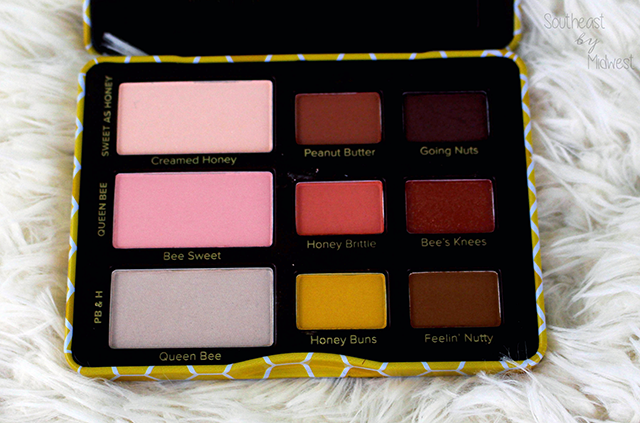 Too Faced Peanut Butter & Honey Palette Review Swatches || Southeast by Midwest #beauty #toofaced