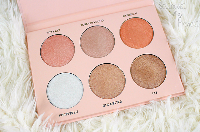Anastasia Beverly Hills Nicole Guerriero Glow Kit Shades || Southeast by Midwest #beauty #bbloggers #anastasiabeverlyhills #nicoleglow