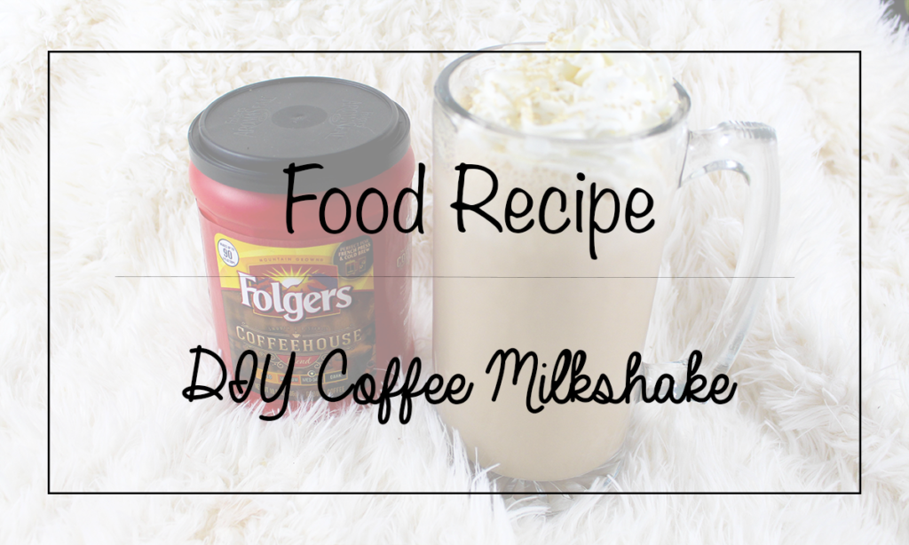 DIY Coffee Milkshake Featured Image || Southeast by Midwest #ad #CoffeehouseBlend #Folgers #Publix