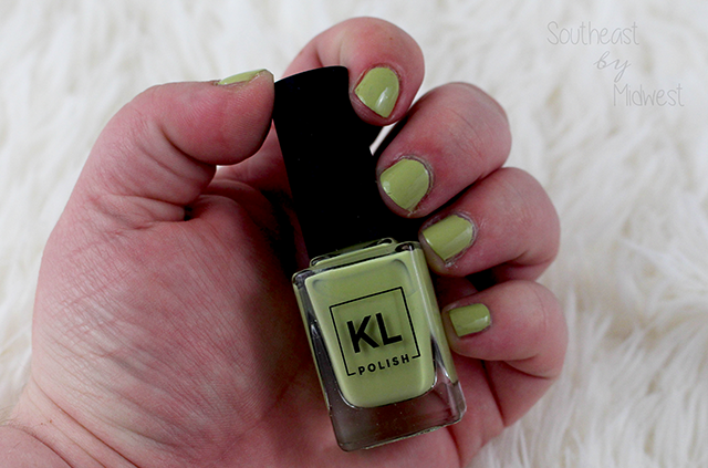 KL Polish Spring Collection Pistachio Ice Cream || Southeast by Midwest #beauty #bbloggers #klpolished
